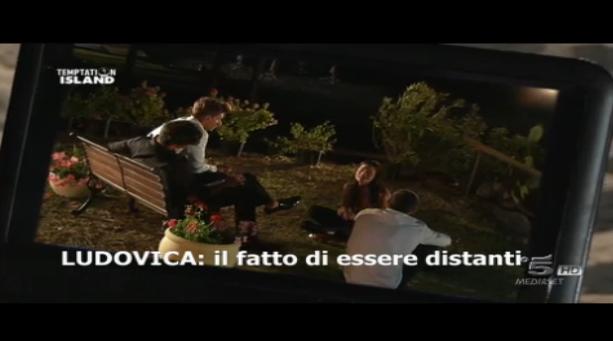 Seconda puntata, Ludovica si confronta con i single