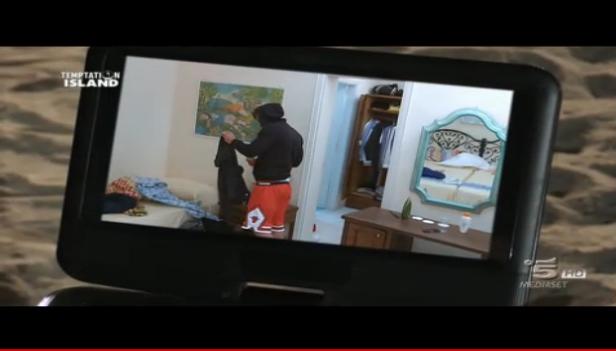 Seconda puntata, Mariarita vede il video di Luca e Irene