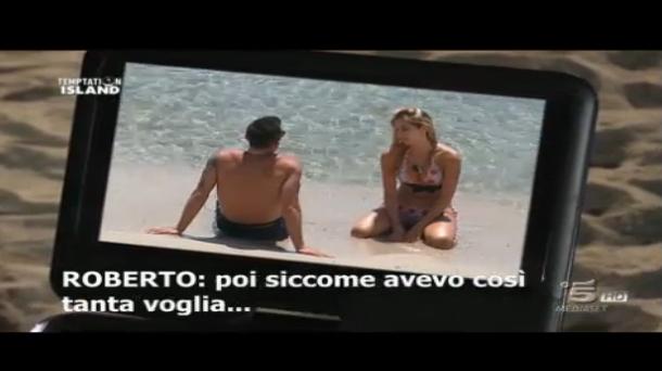 Seconda puntata, Roberto con alcune single