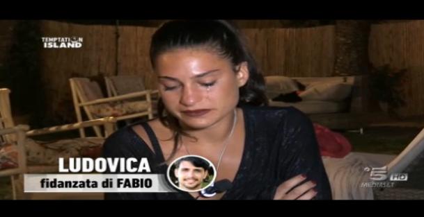 Seconda puntata, le lacrime di Ludovica