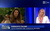 Estate in diretta, lite Alba Parietti-Eleonora Daniele a Ferragosto 2016