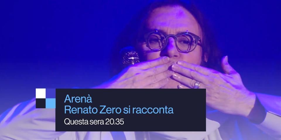 Renato Zero su RAI UNO