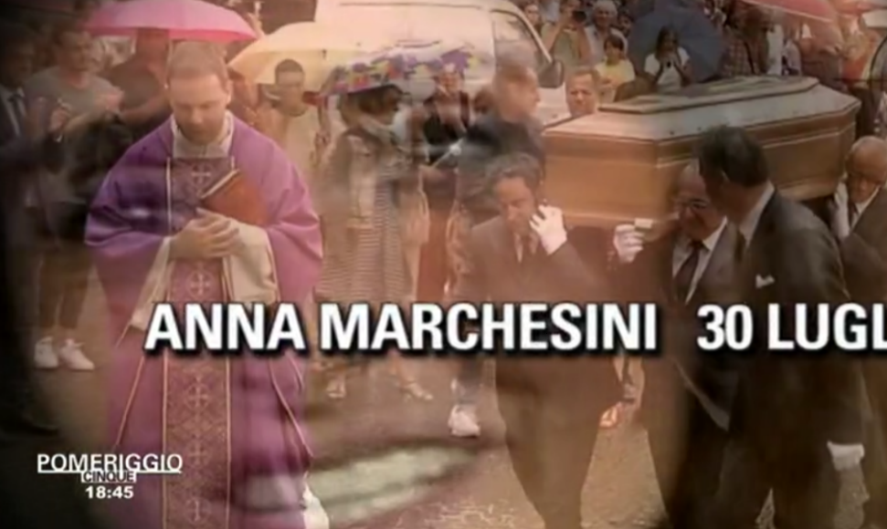 7 Pomeriggio 5 'social' ricorda Anna Marchesini