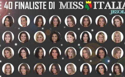 Miss Italia 2016, finaliste: i 40 nomi