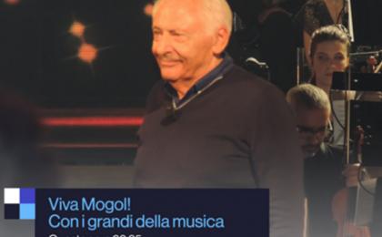 Viva Mogol, RAI 1 omaggia l'artista con Massimo Giletti e tanti ospiti