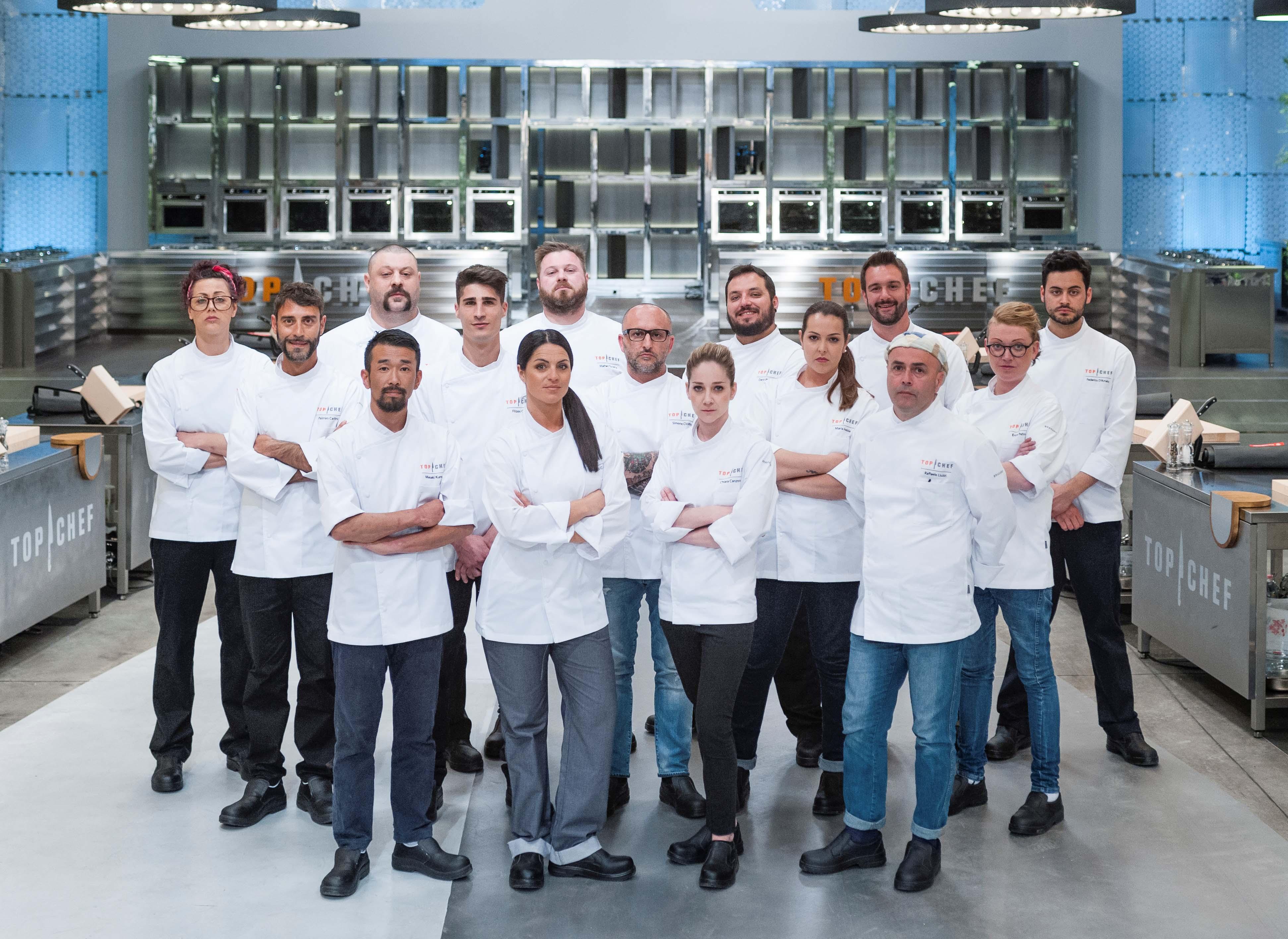 Top Chef Italia, su Nove dal 14 settembre 2016: svelati i concorrenti