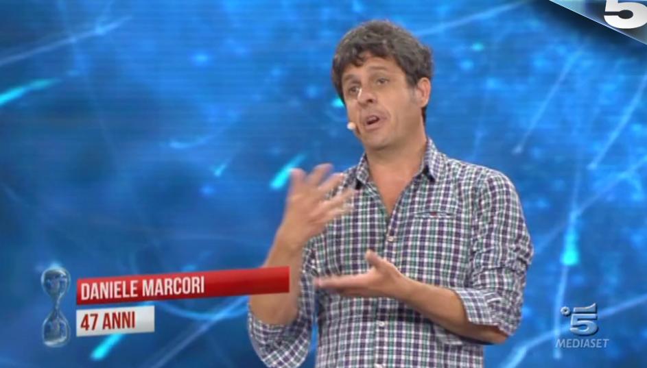 16 Tu sì que vales, Daniele Marcori e il ''monologo drammatico''