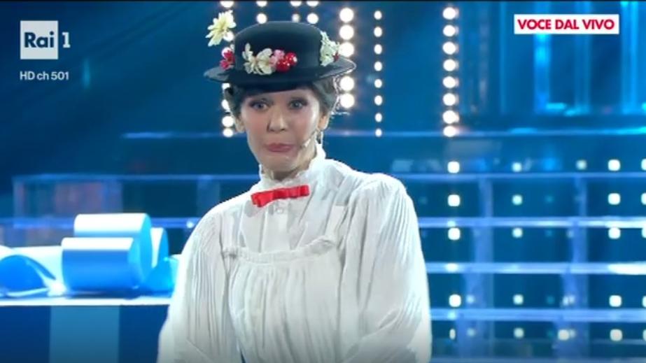 4 Tale e Quale Show, Lorenza Mario è Mary Poppins