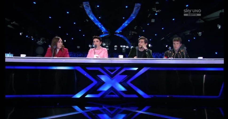 X Factor 2016 primo live giudici