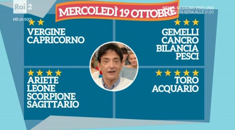 Oroscopo Paolo Fox di oggi 19 ottobre 2016 e previsioni per domani su tutti i segni