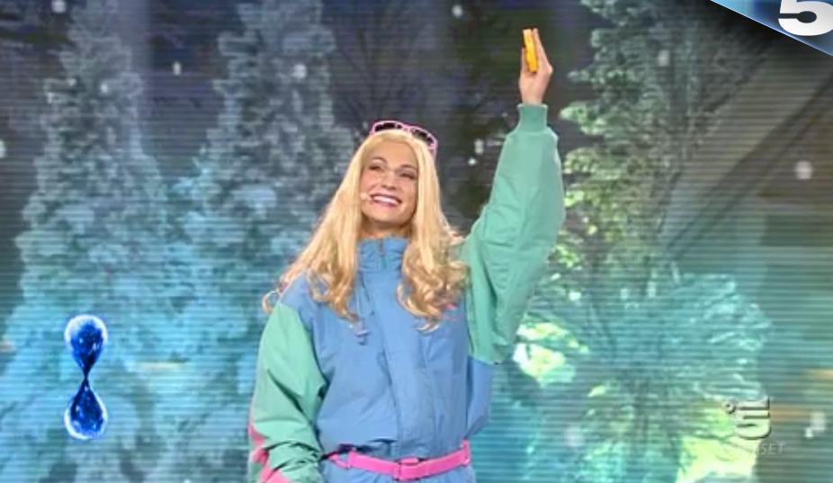 26 Tu sì que vales, l'esibizione di Barbie Girl