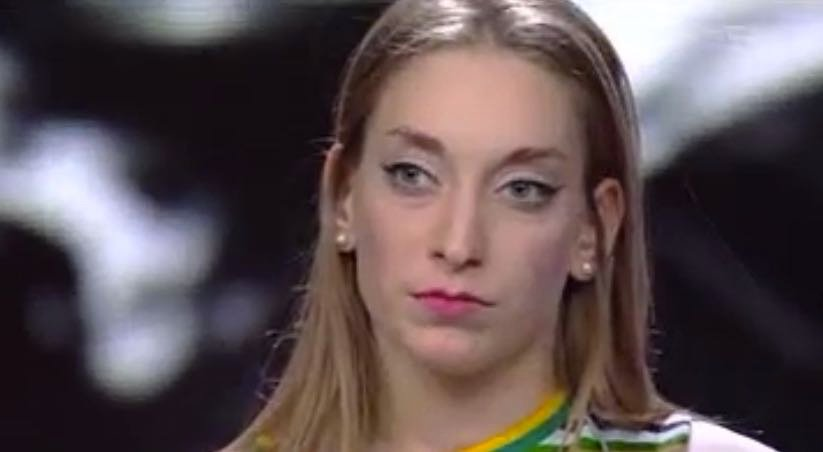 Caterina eliminata al quinto live