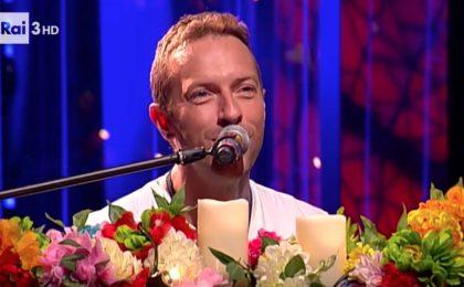 I Coldplay a Che tempo che fa: 'Vogliamo suonare in Italia'
