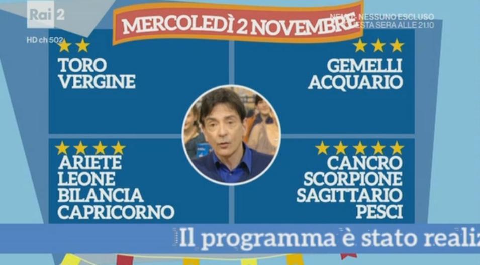 Oroscopo Paolo Fox oggi 2 novembre 2016, con previsioni di domani su tutti i segni
