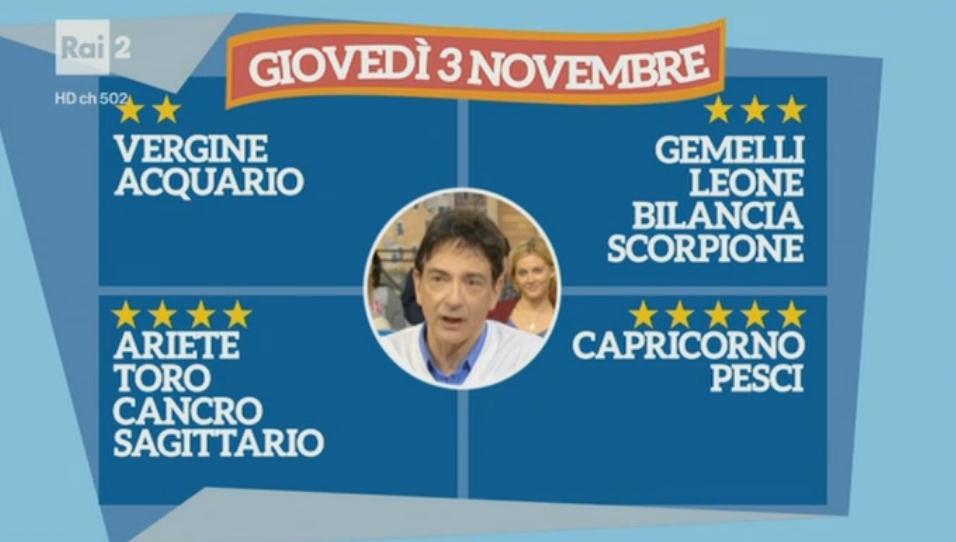 Oroscopo Paolo Fox oggi 3 novembre 2016, previsioni del giorno su tutti i segni