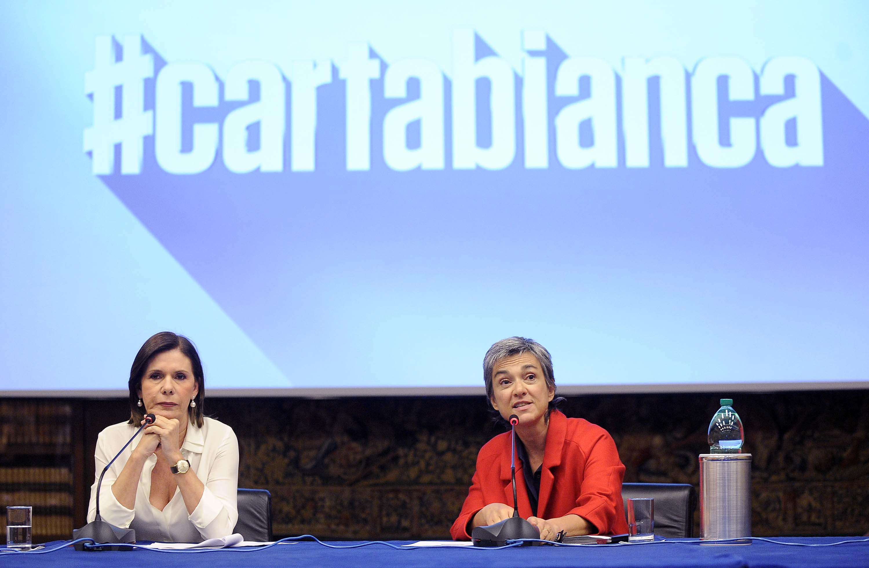 """Rai, presentazione del programma """"Cartabianca"""" condotto da Bianca Berlinguer"""