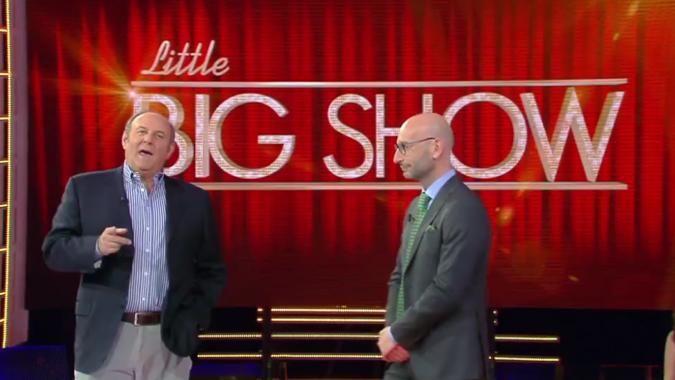 little big show, conduttore gerry scotti