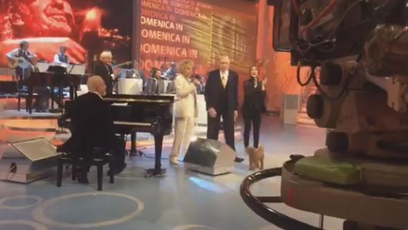 Domenica In: Ornella Vanoni sbotta contro i conduttori in diretta tv, il video