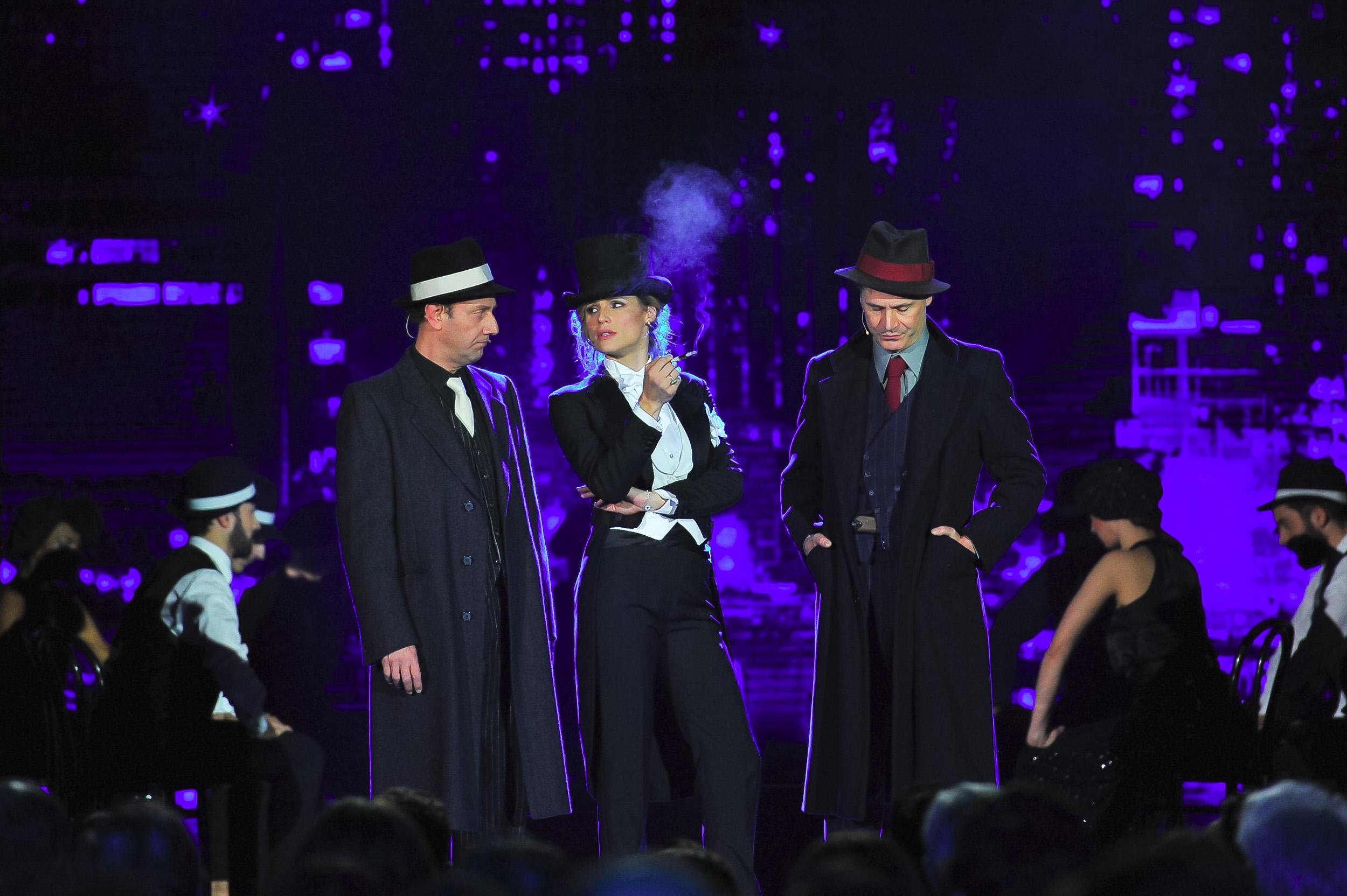 Alessandro Besentini;Michelle Hunziker;Francesco Villa
