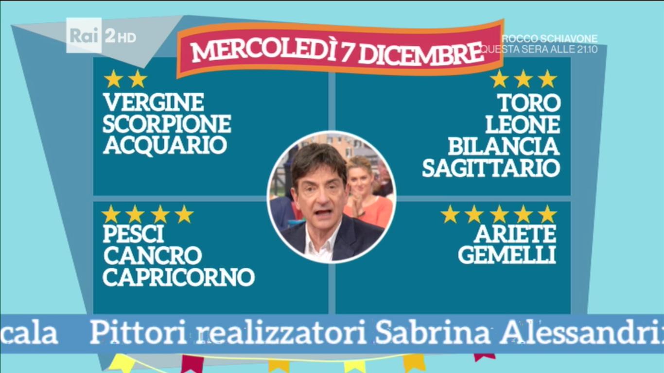 Paolo Fox classifica 7 dicembre