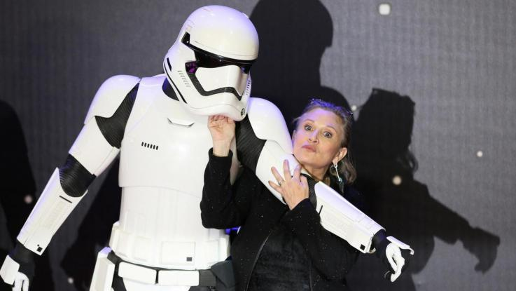 E' morta Carrie Fisher, era la principessa Leila in Star Wars