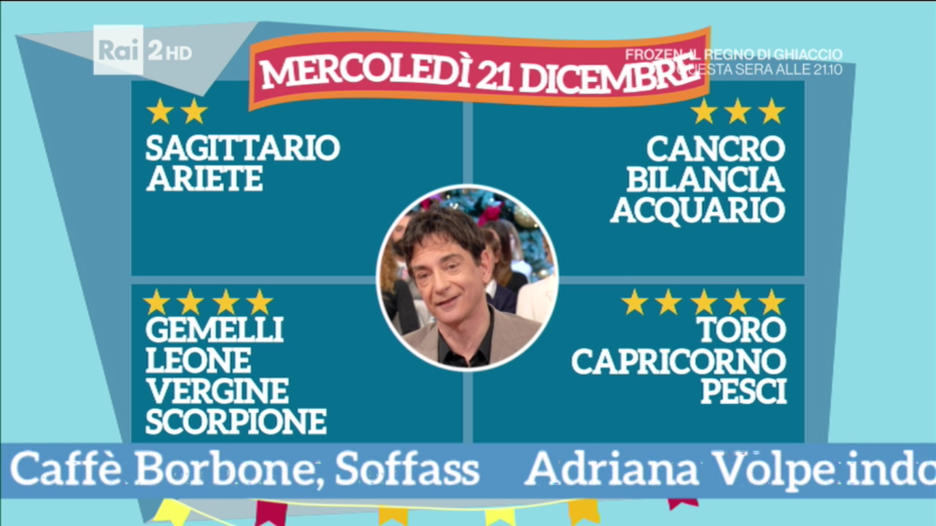 classifica 21 dicembre paolo fox