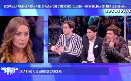 Domenica Live, Andrea Damante contro Karina Cascella: lite nel salotto di Barbara D'Urso