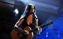 Paola Turci al Festival di Sanremo 2017 con la cover 'Un'emozione da poco'