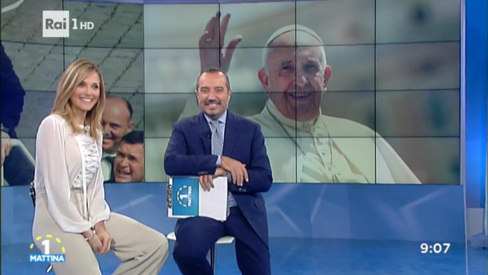 Uno Mattina, Papa Francesco al telefono su Rai 1: 'Vi auguro un Natale cristiano'
