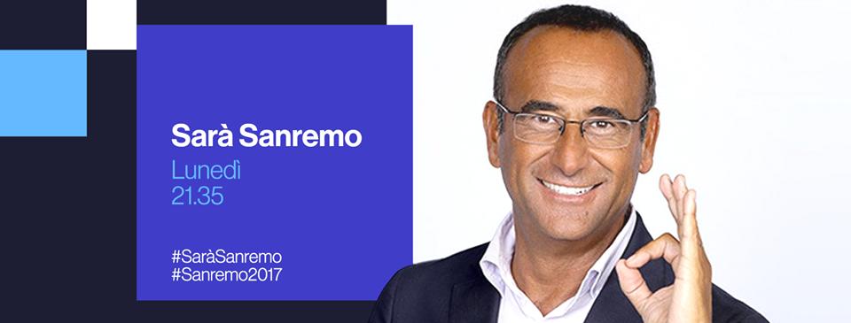 Sarà Sanremo 2017, diretta live su Rai 1 del 12 dicembre: primo passo verso il Festival