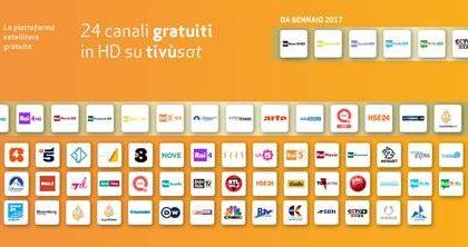 Tivùsat punta sulla qualità e regala più di 20 nuovi canali ai telespettatori