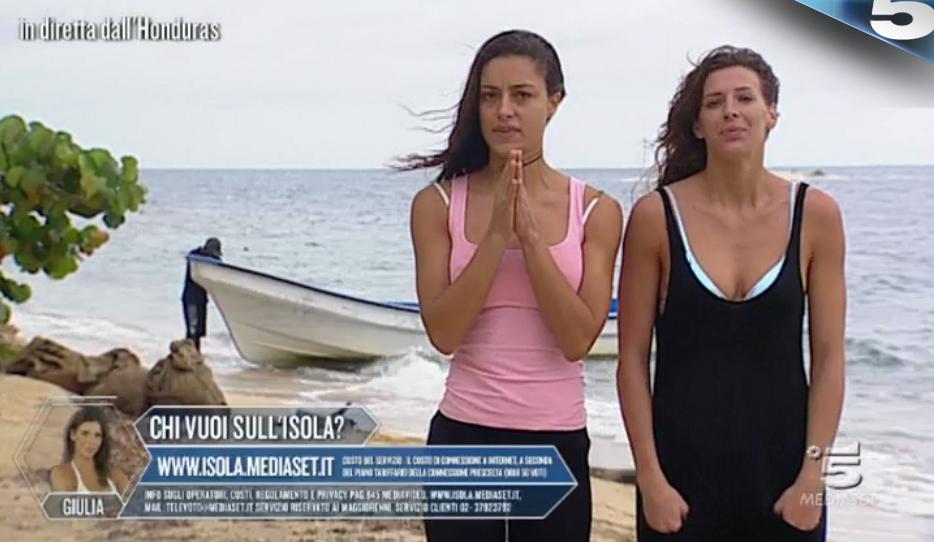 12 Desirée Popper e Giulia Calcaterra al televoto
