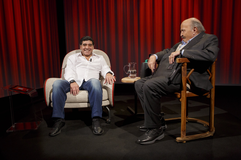 Maurizio Costanzo e Maradona