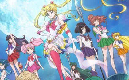 Sailor Moon Crystal 4 stagione in uscita per il 25esimo anniversario della serie anime