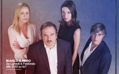 Bianco e Nero su La7, il nuovo programma di Luca Telese in onda dal 6 febbraio 2017