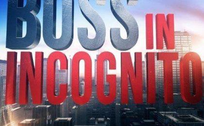 Boss in incognito 2017, puntata 31 gennaio su Rai 2 in diretta live