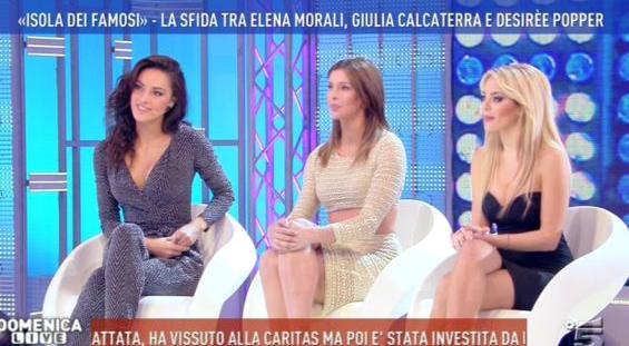 Isola dei Famosi 2017, Elena Morali perde la sfida con Giulia e Désirée