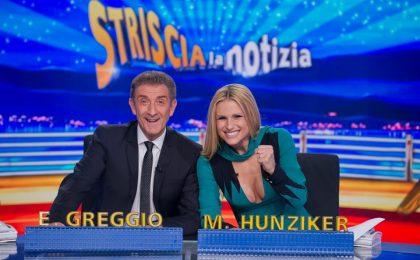 Striscia la notizia 2017, Michelle Hunziker torna alla conduzione con Ezio Greggio