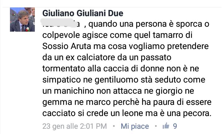 giuliano giuliani su facebook