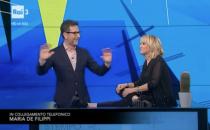 Maria De Filippi a Che Tempo Che Fa: la gag telefonica con Luciana Littizzetto