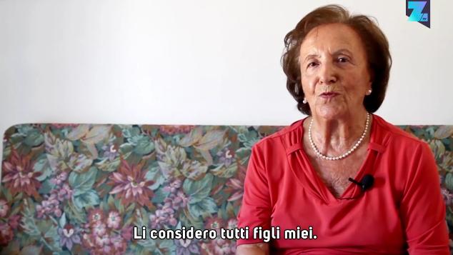 Maria Pollacci al Festival di Sanremo 2017: l'ostetrica che ha fatto nascere più di 7000 bambini