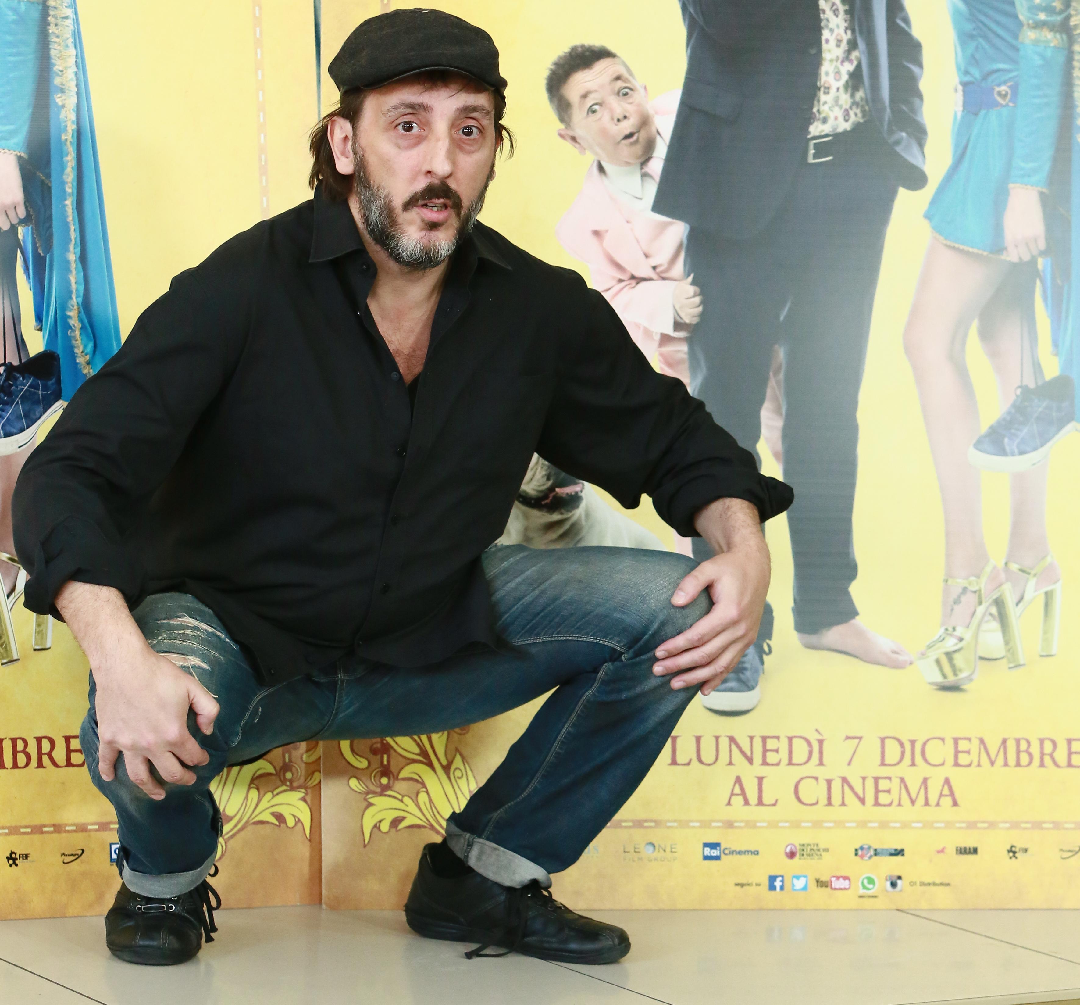 """Cinema Adriano, photocall del film """"Il Professor Cenerentolo"""""""