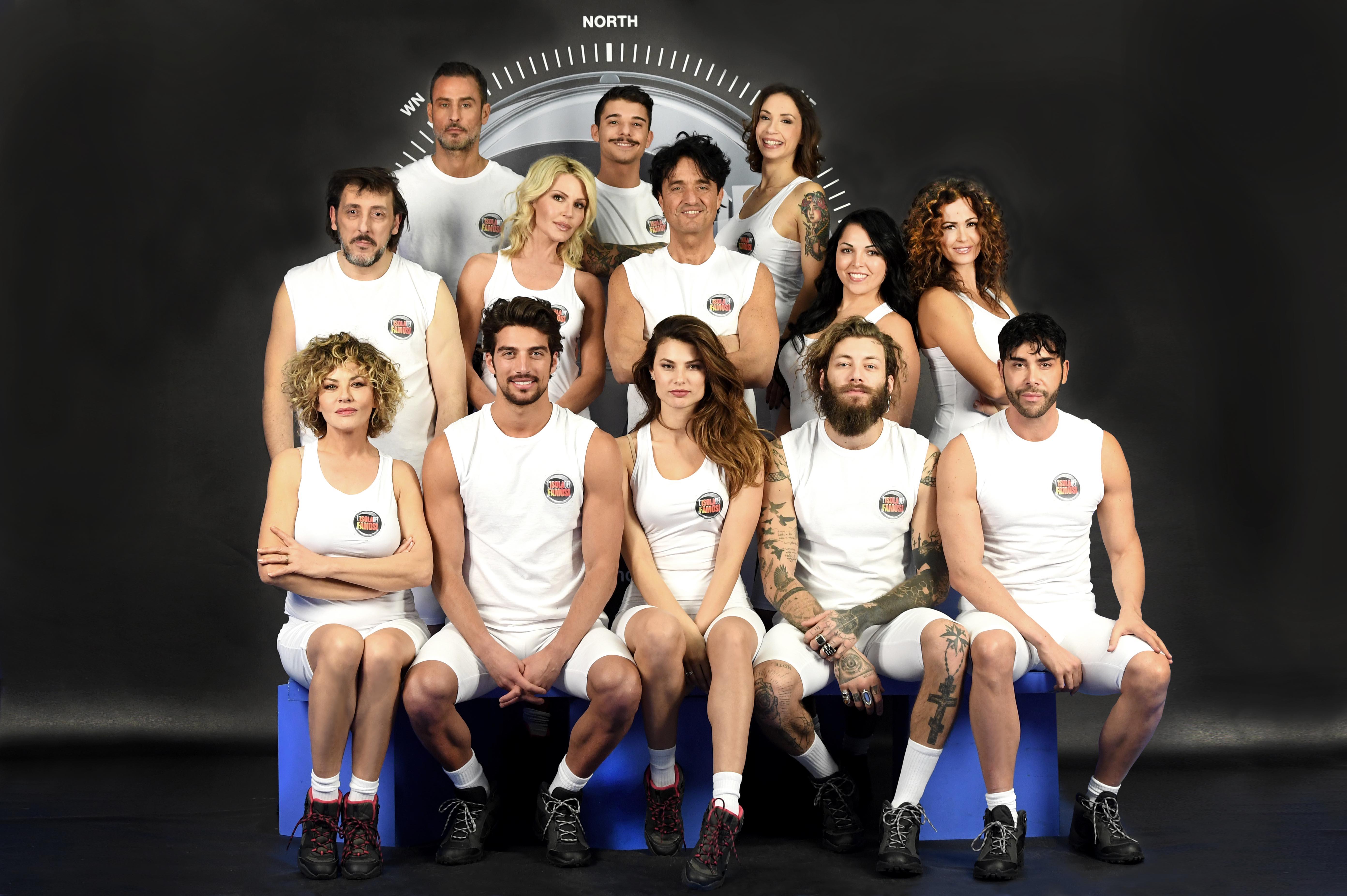 L'Isola dei Famosi 2017, i concorrenti ufficiali nel cast della 12 edizione