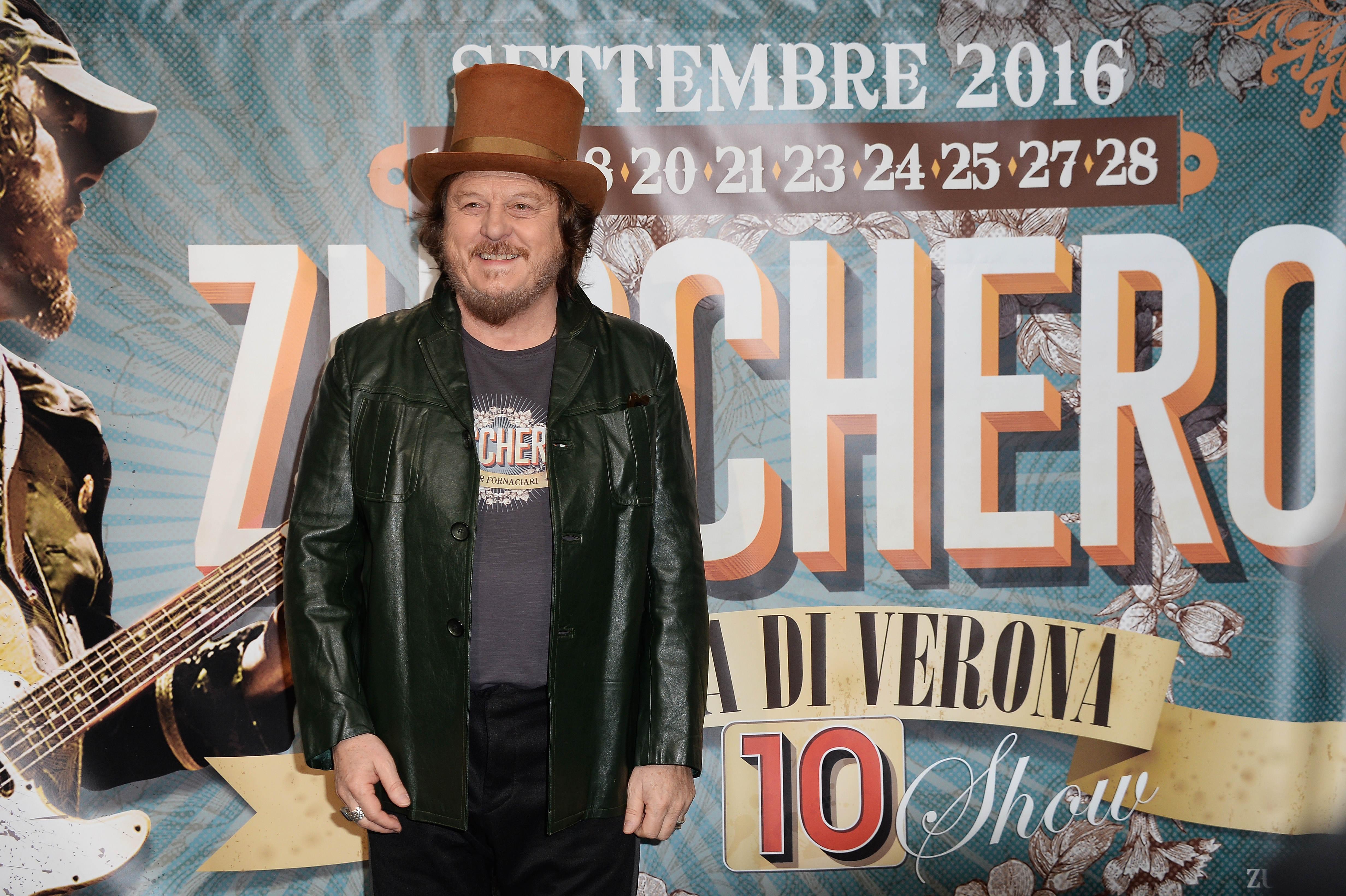 Zucchero ospite a Sanremo 2017: il cantautore torna per la sesta volta sul palco dell'Ariston