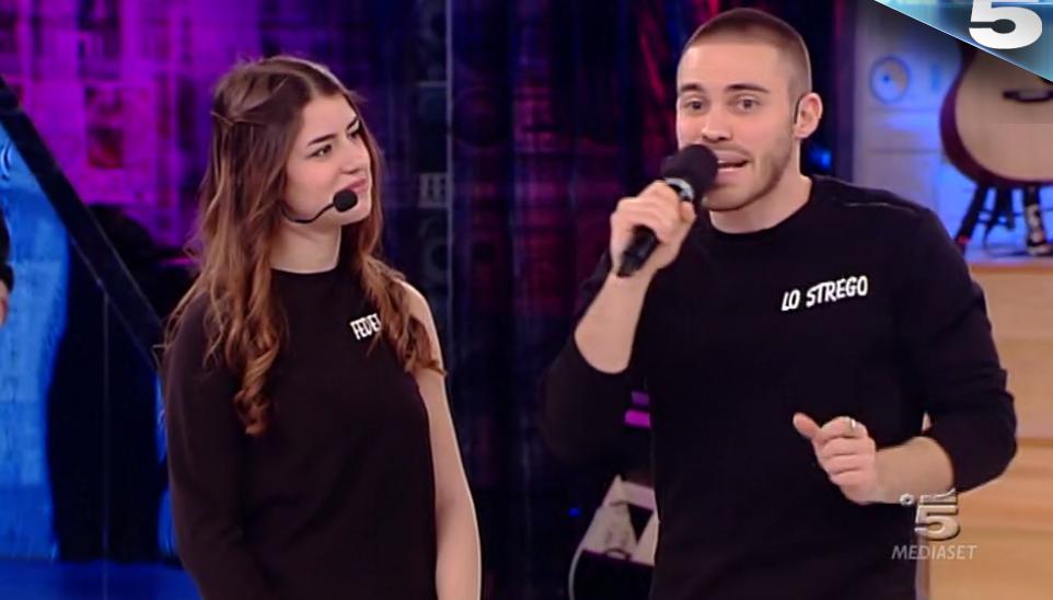 12 Lo Stego canta 'L'impiegato' (sfida contro Federica)