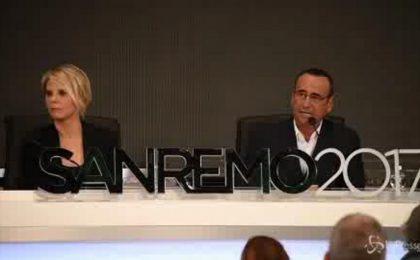 Carlo Conti, conduttore del Festival di Sanremo 2017: 'La musica al centro del trittico sanremese'