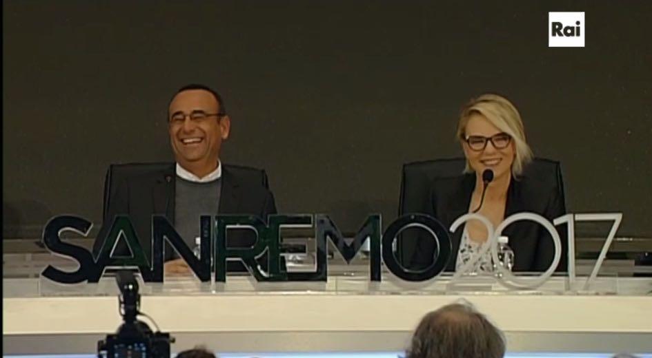 Festival di Sanremo 2017: la conferenza stampa del 12 febbraio in diretta live