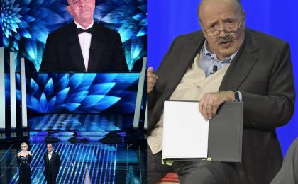 L'Arena, Maurizio Costanzo contro Crozza a Sanremo 2017: 'Era a corto di argomenti'