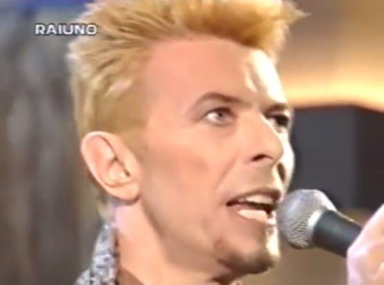David Bowie a  Sanremo
