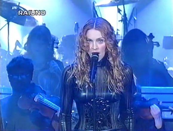 Madonna a Sanremo